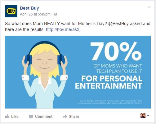 Best Buy Facebook