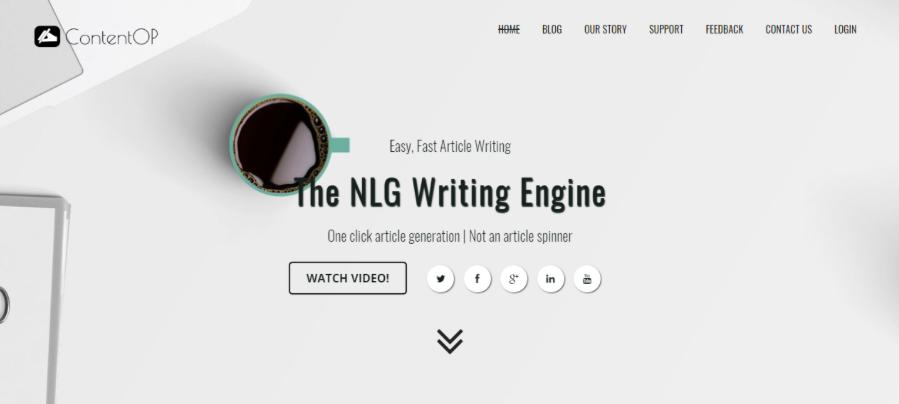 The NLG Writing Engine