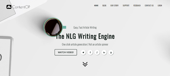 The NLG Writing Engine