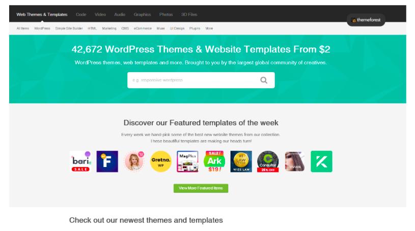 Web Themes & Templates