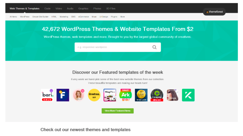 Web Themes & Templates