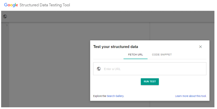 Structured Data Testing Tools