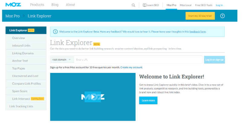 Link Explorer by Mom