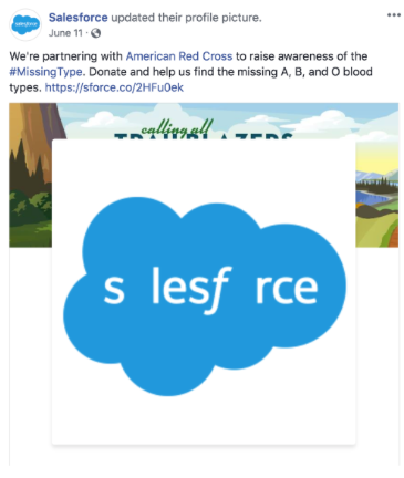 Salesforce Partnership with American Red Cross