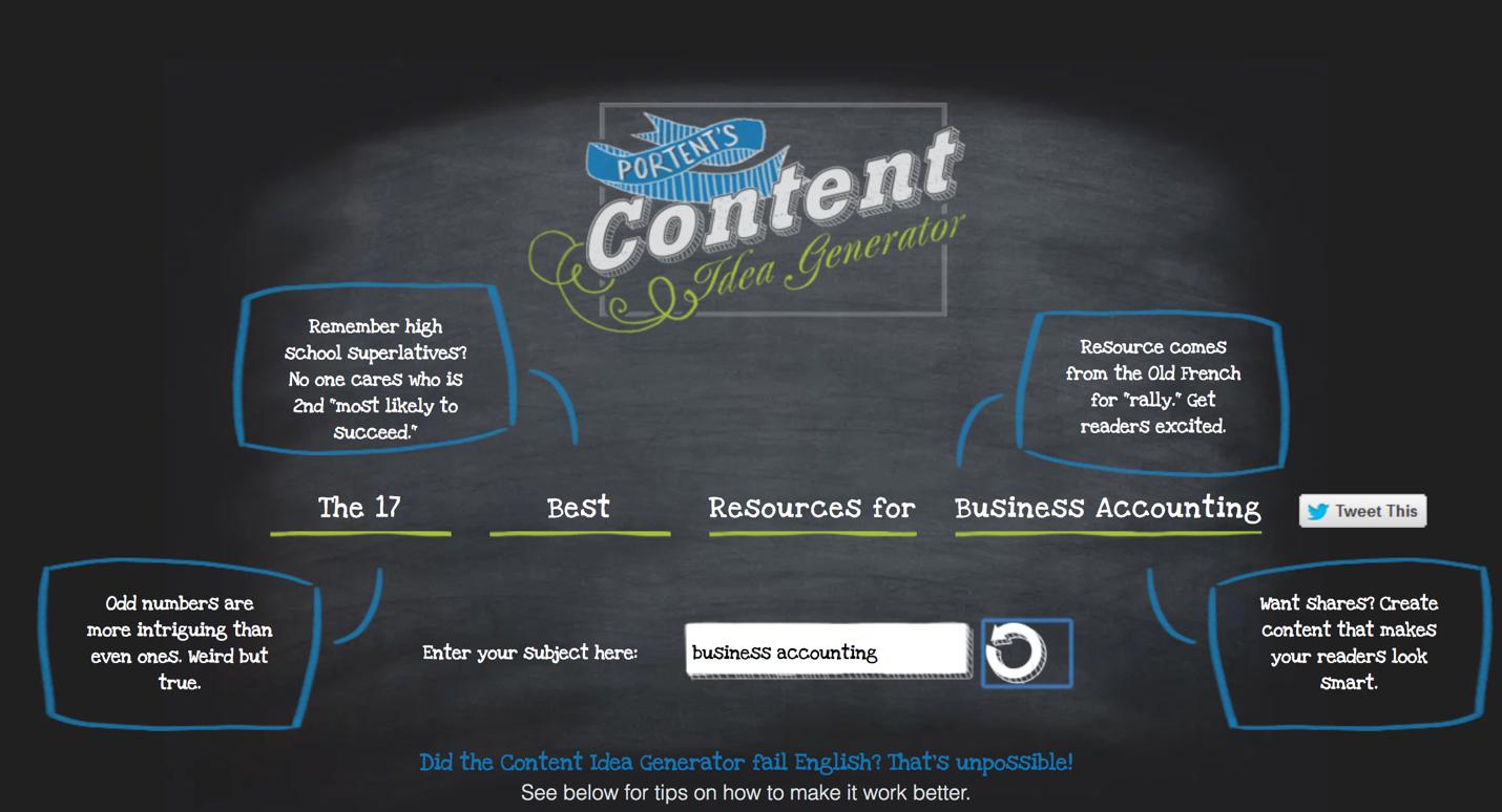 content-idea-generator
