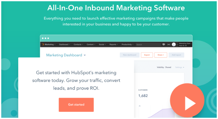 hubspot marketing platform