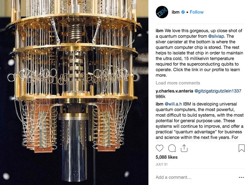 IBM Instagram