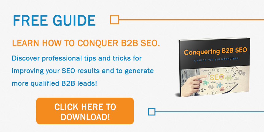 Conquering B2B SEO in 2017